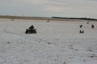 sledding with a 4 wheeler