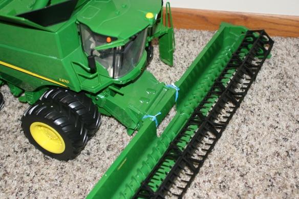 toy combine repair job
