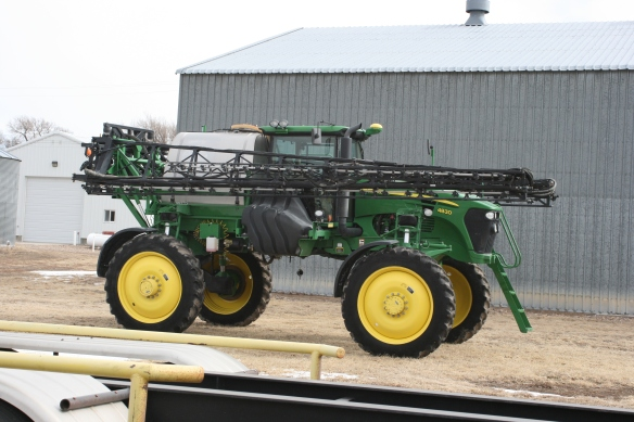 self propelled sprayer