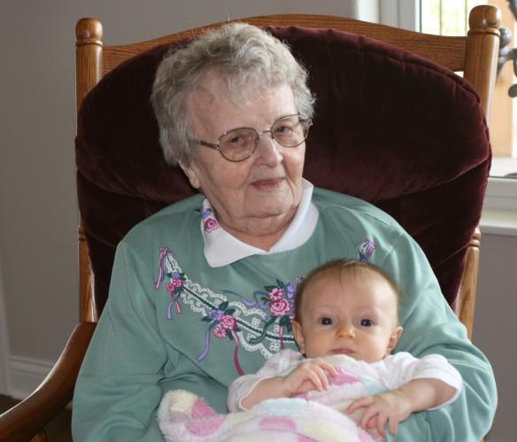 My Grandma - She prays for me every day.