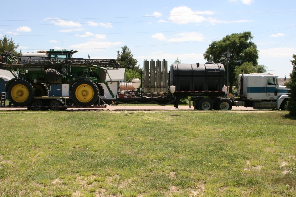 Sprayer and Trailer