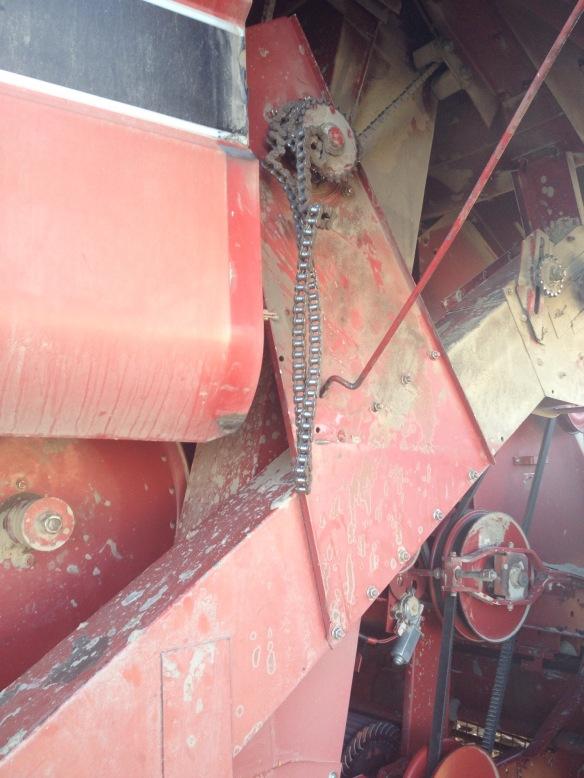 tailing elevator chain