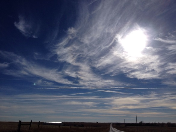 Nebraska December Sky