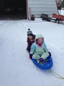 Western Nebraska sledding