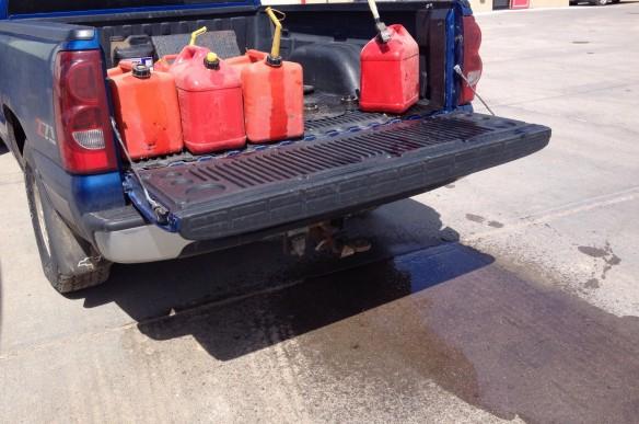 Diesel Leak