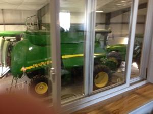 combine in garage