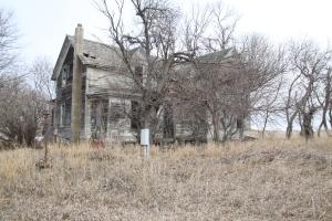 falling apart house