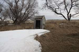 1900's outhouse