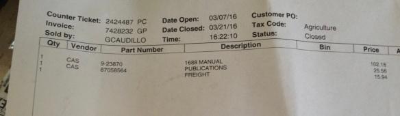 Case Invoice
