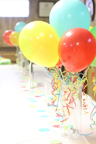 1st birthday table decor